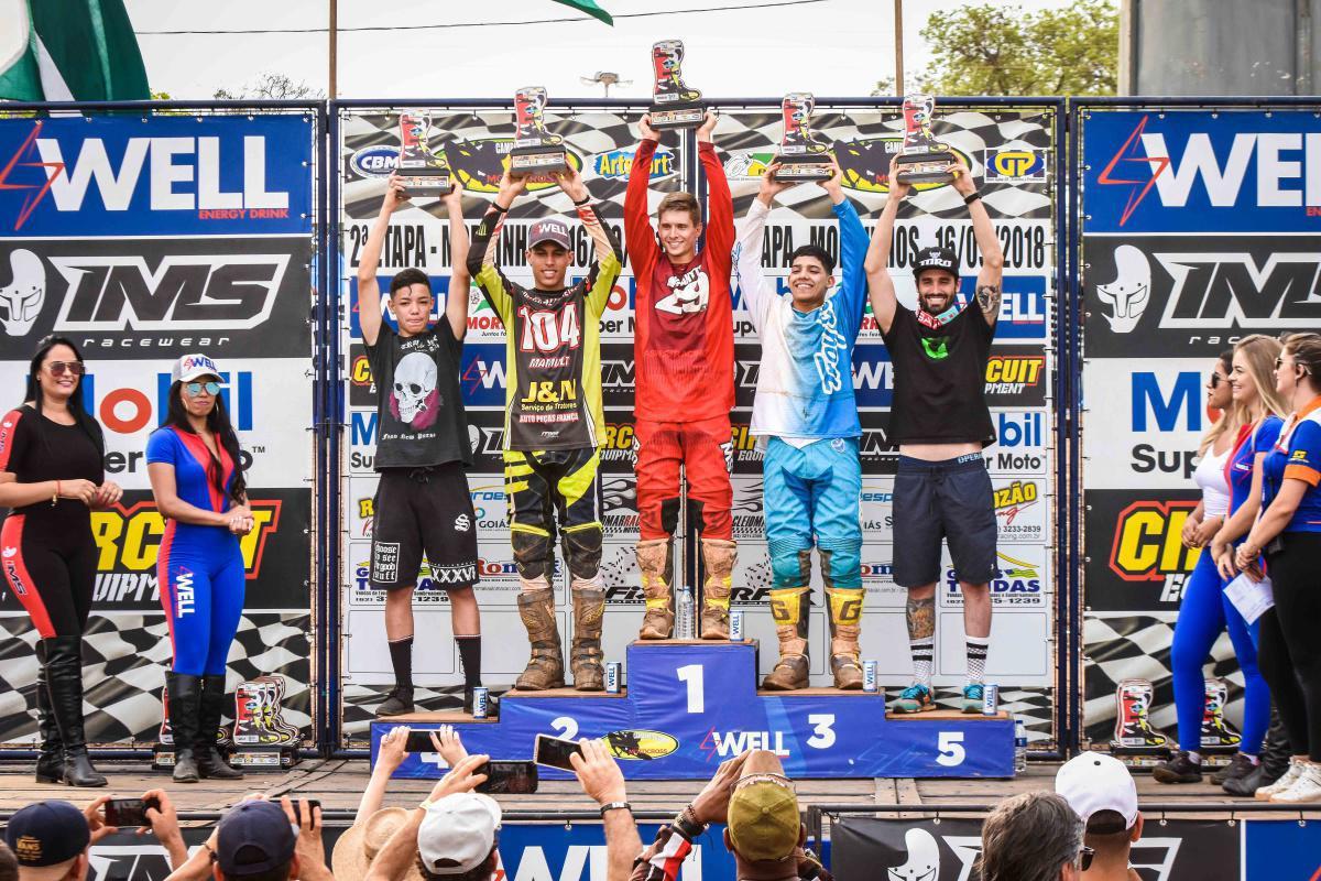 Segunda etapa do Goiano de Motocross em Morrinhos foi um sucesso total