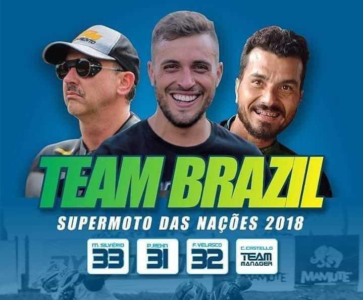 Time Brasil está no Top 10 no Supermoto Nações