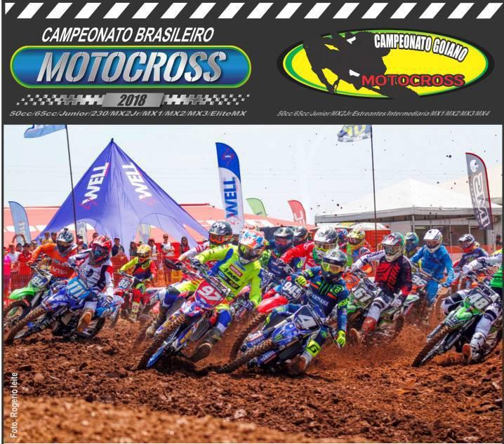 Caldas Novas recebe de Volta o Goiano e Brasileiro de Motocross com decisão de títulos.