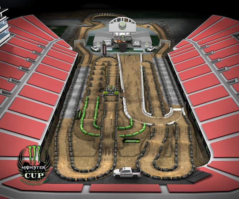 Monster Energy Cup, milhões de dólares invade Las Vegas pelo oitavo ano