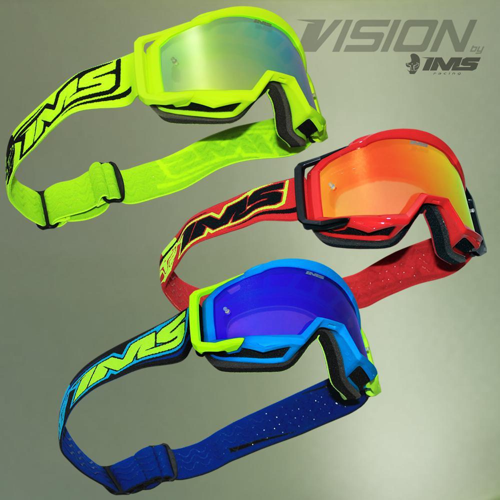 IMS lança óculos off-road de qualidade Premium: IMS Vision
