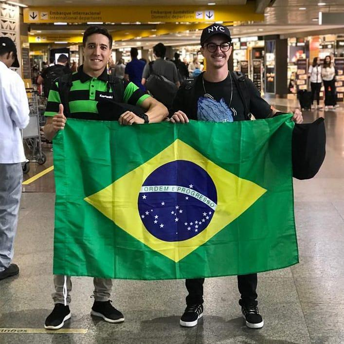 Machito e Caio Lopes representam o Brasil no Latino Americano de MX