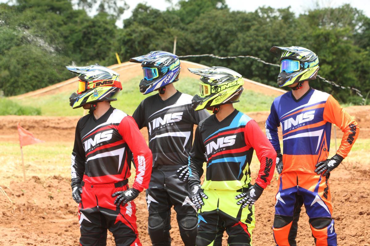 A marca nacional IMS Racing apresenta em primeira mão seus novos conjuntos da coleção 2019 da linha flex.
