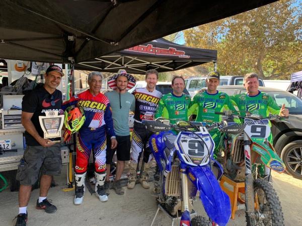 Veteranos retornam do World Vet Motocross Championships 2018 com muitos troféus