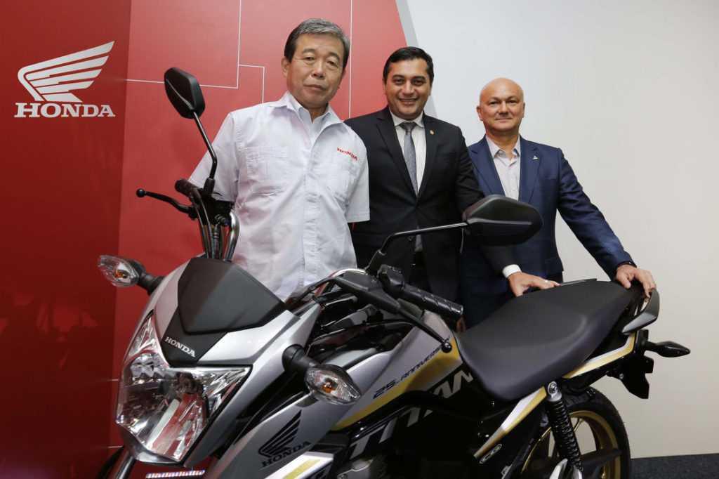 Moto Honda da Amazônia anuncia investimento de 500 milhões de reais no Brasil