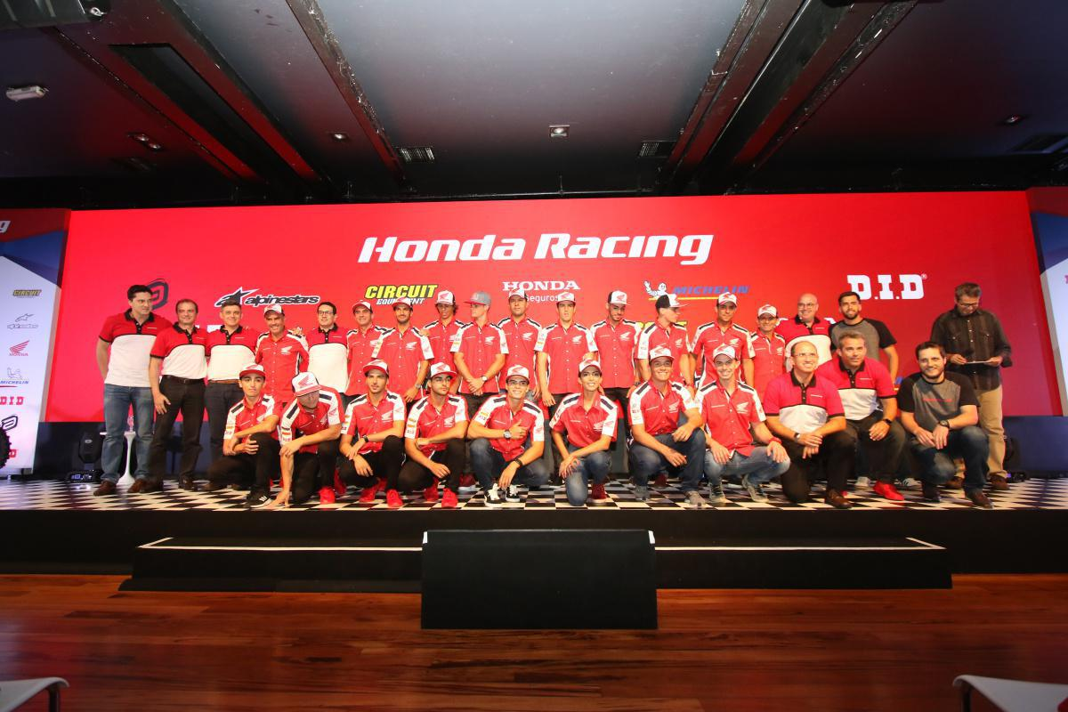 Honda Racing reforça equipe oficial em busca de mais títulos em 2019