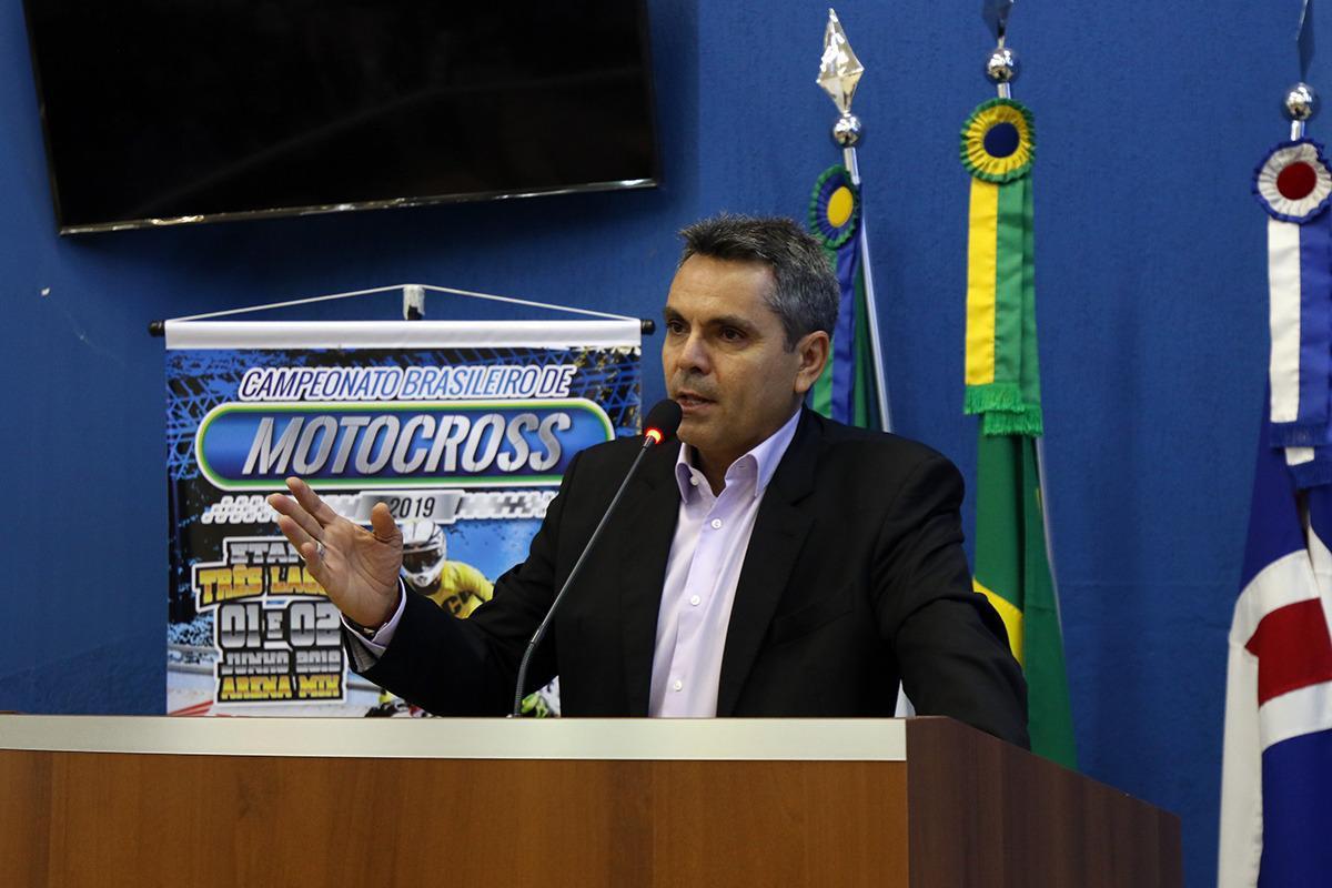 Presidente da CBM lança hoje em Três Lagoas (MS) a 3ª etapa do BRMX