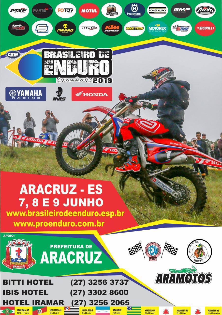 Brasileiro de Enduro Fim chega a Aracruz(ES) neste final de semana (8 e 9)