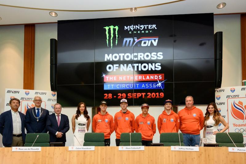 2019 Monster Energy FIM MXoN - Team Holanda