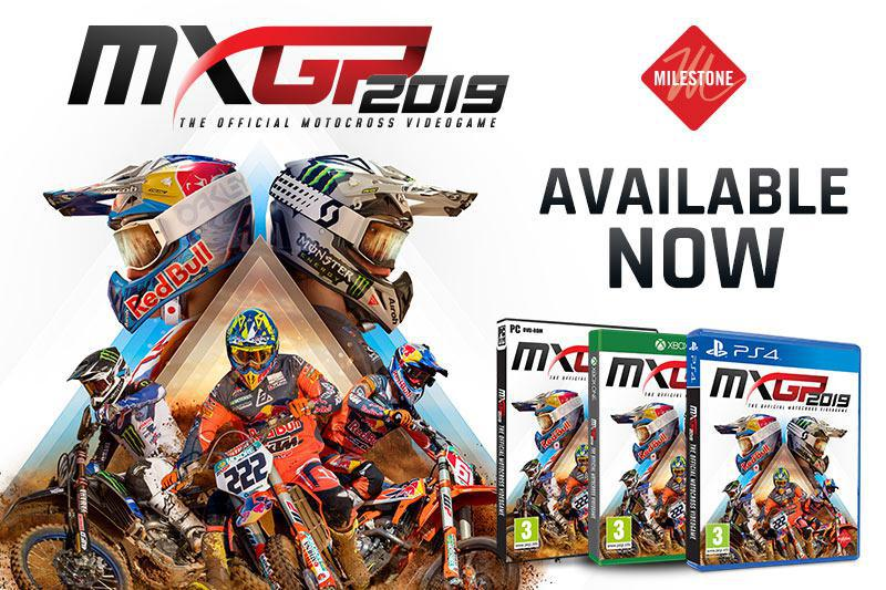 MXGP2019, o lançamento oficial do videogame de motocross em 2019