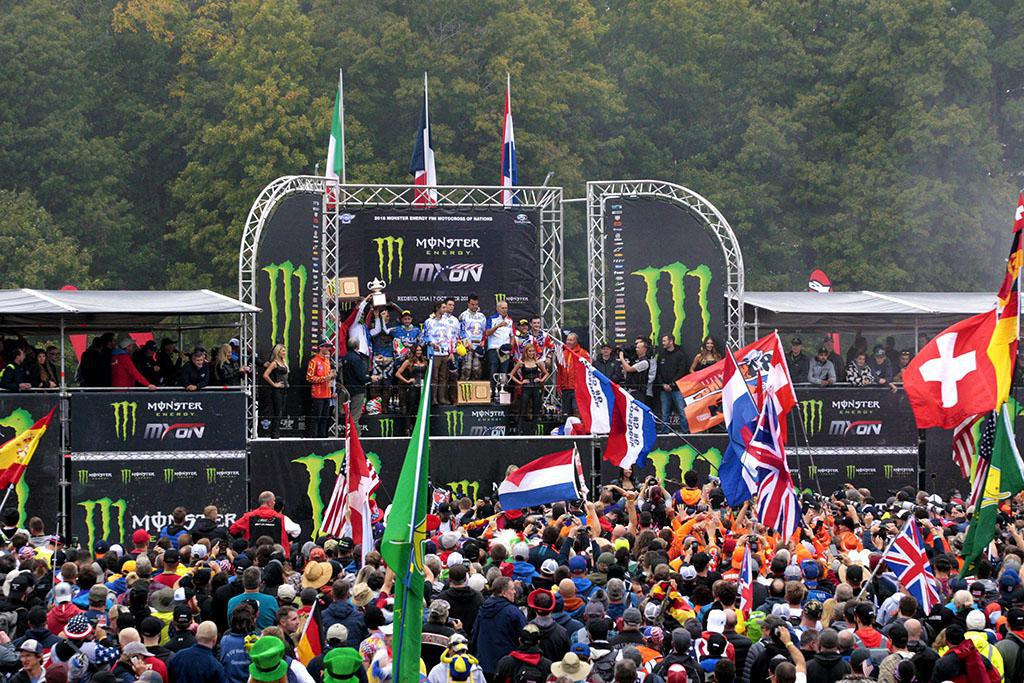 Assen congratula-se com o 73º Monster Energy FIM Motocross das Nações