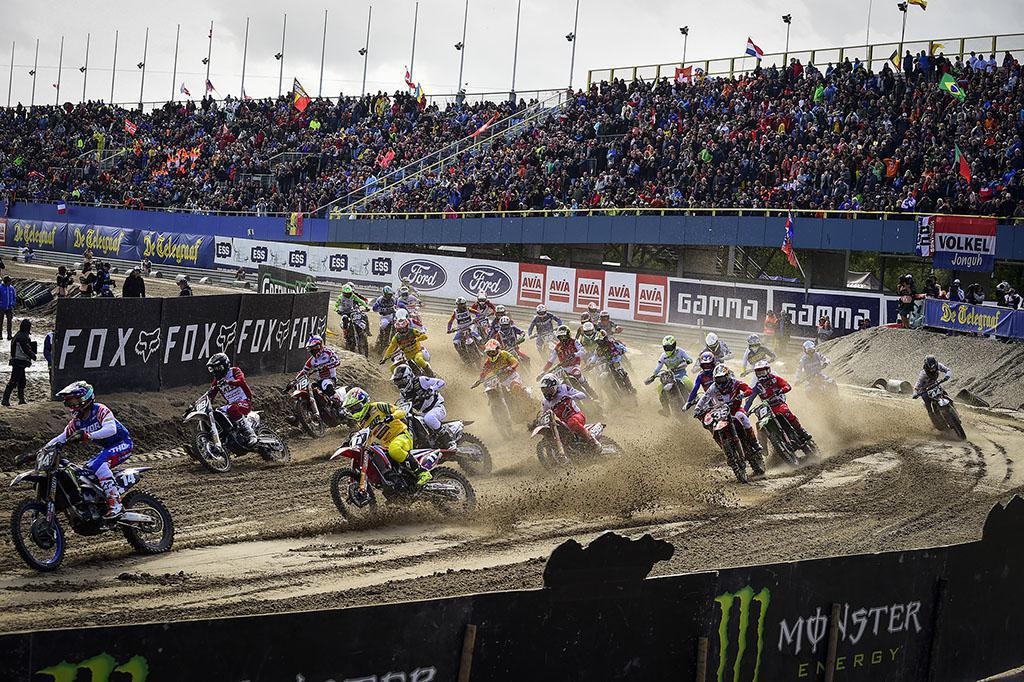 Equipe Bélgica lidera as corridas classificatórias de Motocross das Nações Monster Energy FIM de sábado em Assen