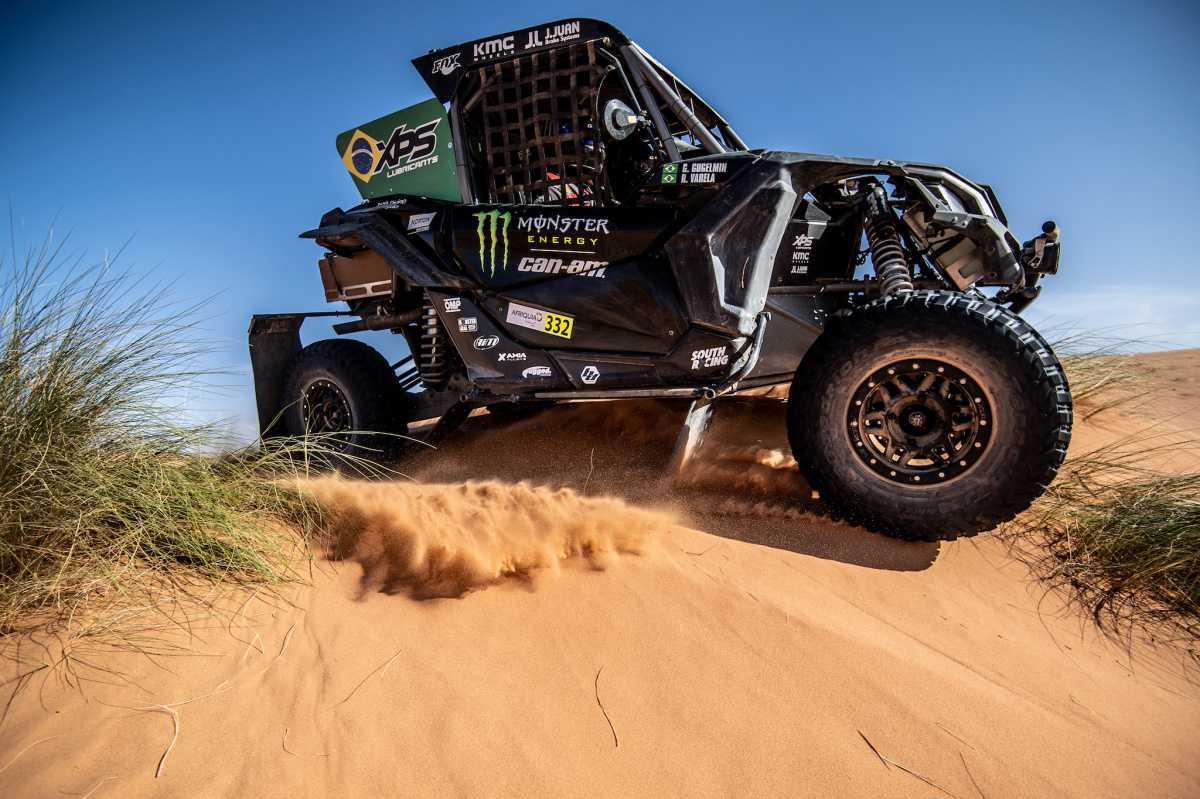 Brasileiros vencem etapa do Rally do Marrocos e estão a dois pontos do título