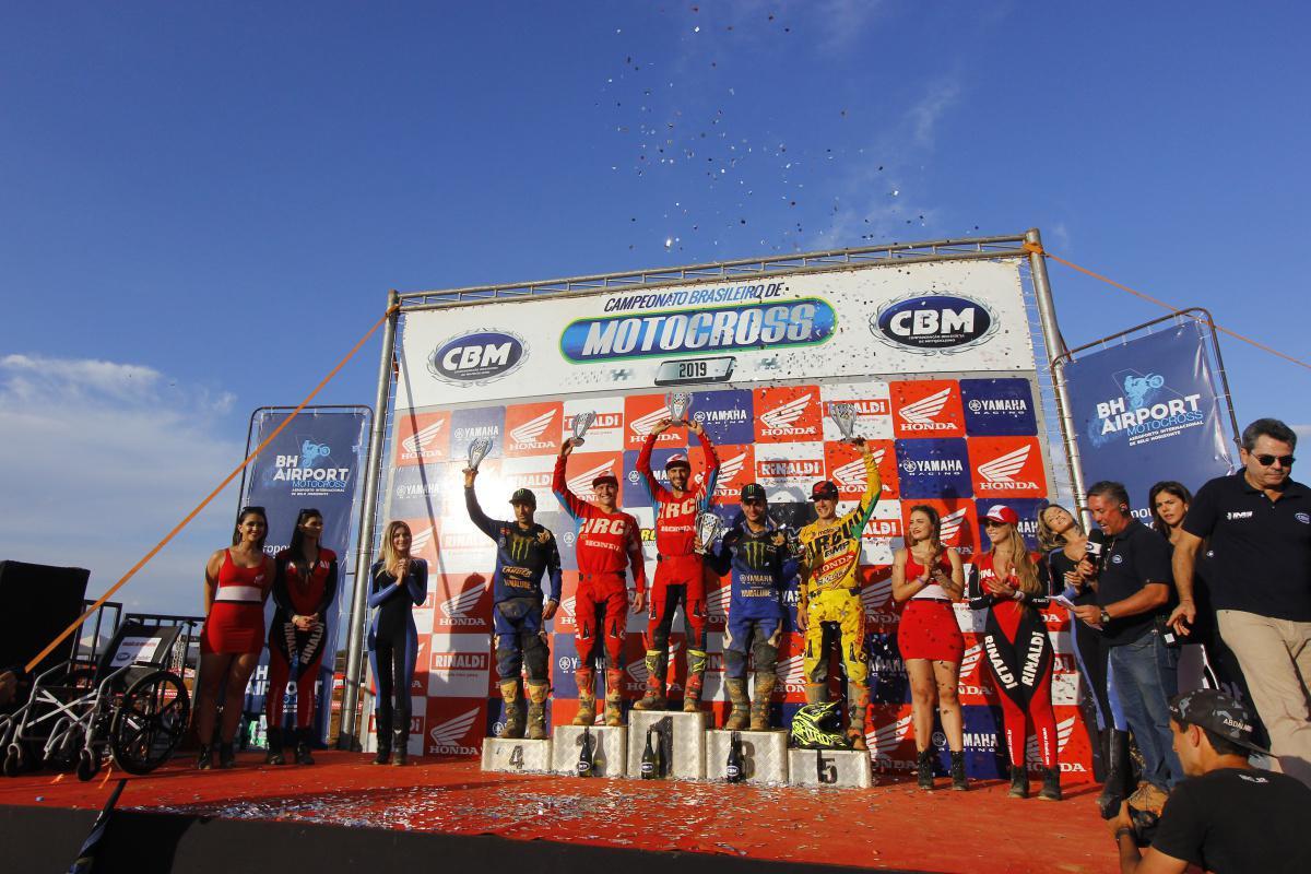 Definido neste domingo em MG os campeões brasileiros do BRMX