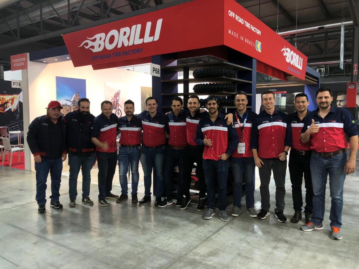Borilli Racing lança linha de mousse para mercado europeu
