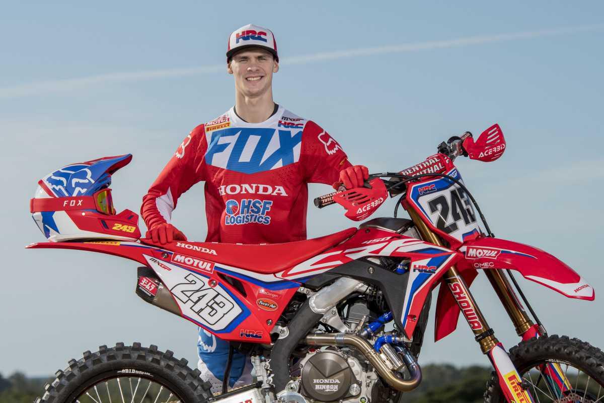 Tim Gajser, tricampeão mundial de motocross, é uma das atrações da Honda no Salão Duas Rodas 2019
