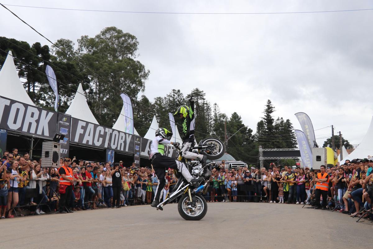 Evento acontece de 13 a 15 de março, em Campos Alegre (SC), com patrocínio da Pro Tork e Honda. Sorteio de 15 motos 0km, totalizando cerca de R$ 180 mil em prêmios, promete atrair mais de 3,5 mil pilotos de motocicletas, quadris e UTVs