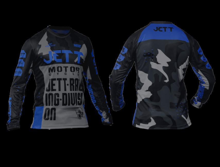 Jett apresenta seu novo conjunto off road: Factory Edition 3