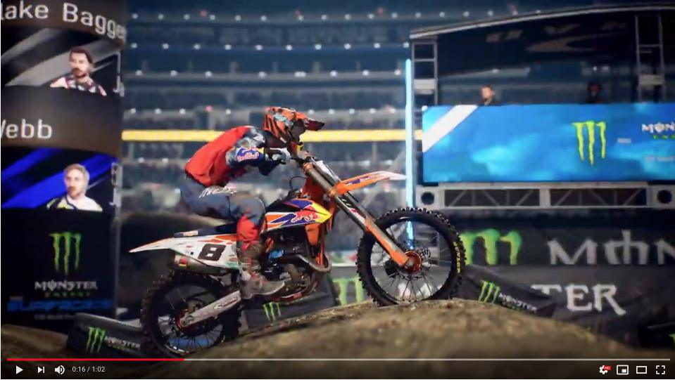 Milestone lança Monster Energy Supercross - o video game oficial