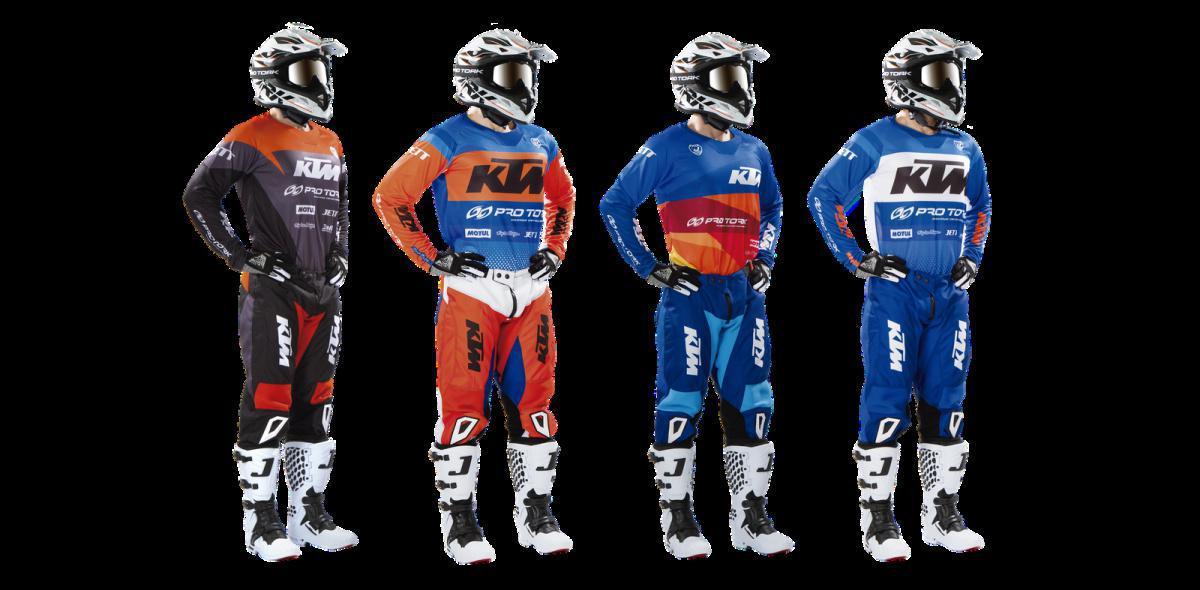 KTM ganha conjunto off road desenvolvido pela Pro Tork