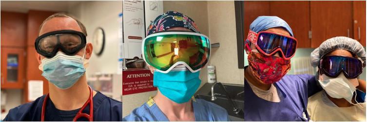 Campanha Goggles for Docs Brasil!