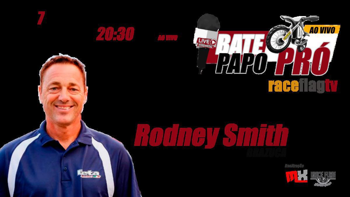 Bate-PAPO PRÓ com Rodney Smith, dia 7 de Julho