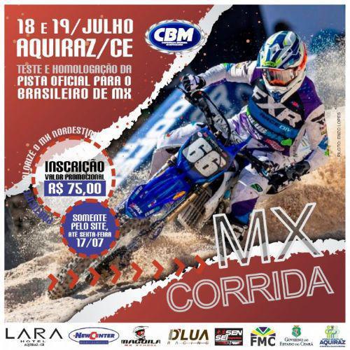 Evento-teste de motocross em Aquiraz (CE) retoma competições no país