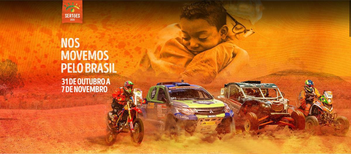 """Em 2020, o maior rally das Américas se transforma no """"Rally da Solidariedade"""", levando cestas básicas e telemedicina para lugares remotos e carentes do Brasil. Largada acontece dia 31/10 em São Paulo e chegada dia 7/11 no Maranhão."""