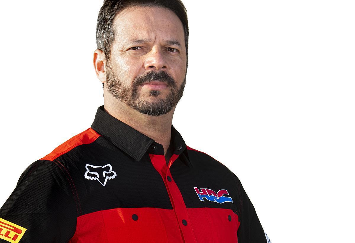 Marcus Pereira de Freitas, o gerente geral do esforço do HRC em MXGP
