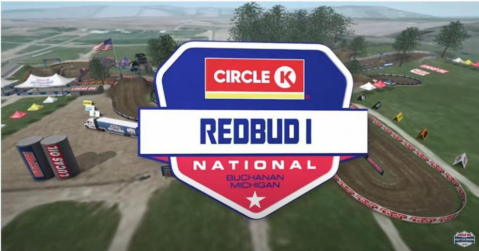 Conheça a pista de RedBud 1, 4ª etapa do AMA Motocross