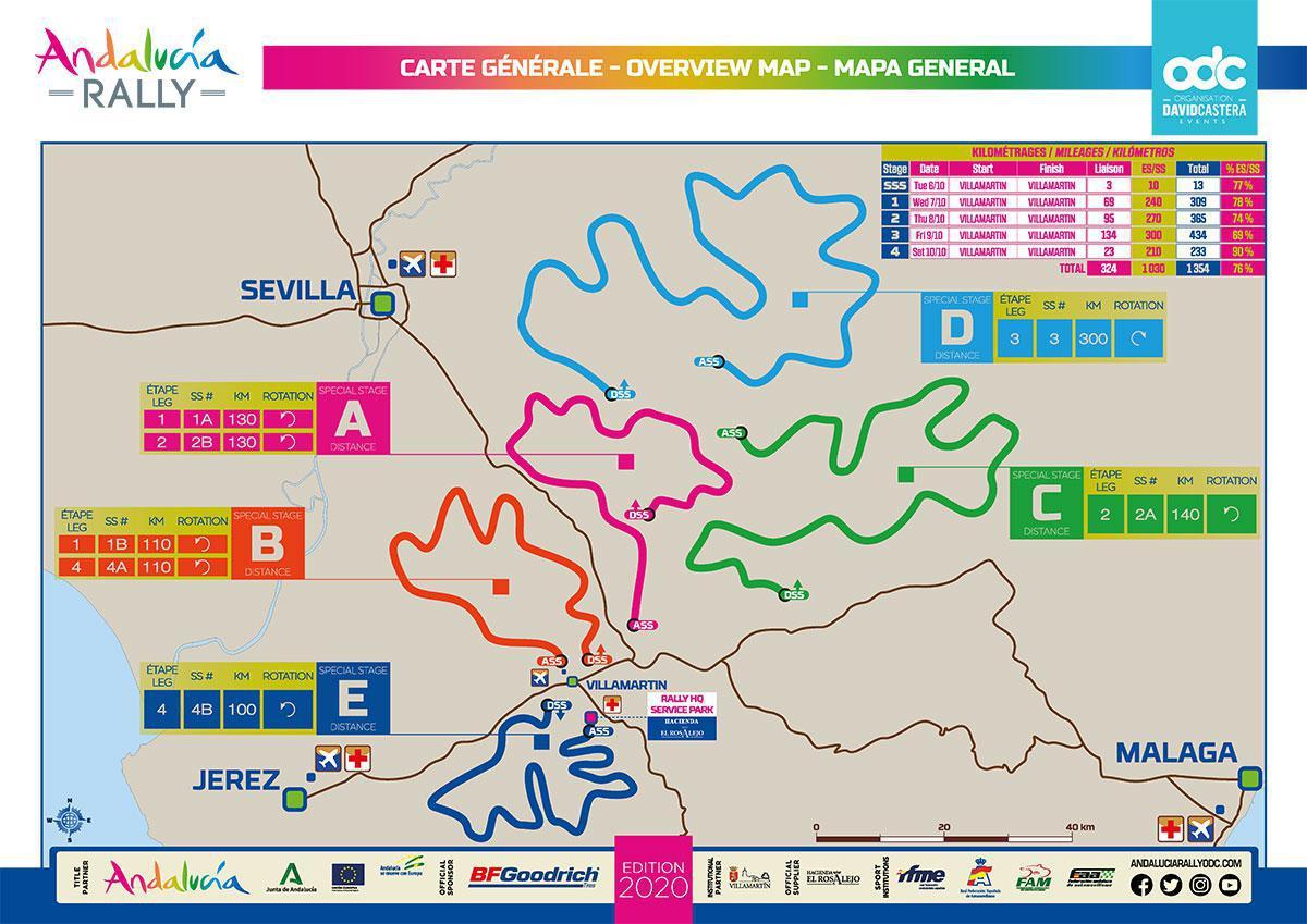 Depois que o Rally de Marrocos foi cancelado há apenas três semanas, a equipe de David Castera começou a trabalhar para mover o evento para a Europa com o Rally Andalucía de 6 a 10 de outubro.