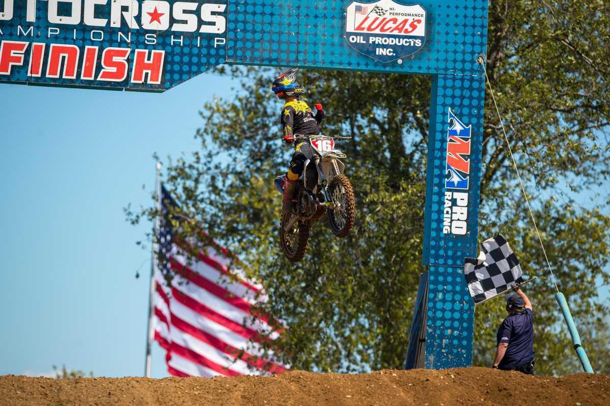 Osborne varre RedBud para conquistar a terceira vitória do Lucas Oil Pro Motocross de 2020