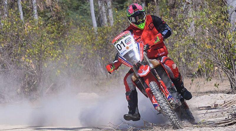 Tunico Maciel conquista o título das motos no Rally RN 1500