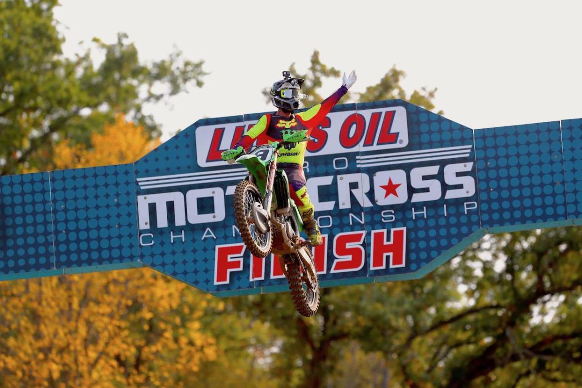 Zach Osborne volta a liderança no Lucas Oil Pro Motocross Championship 2020 em Spring Creek