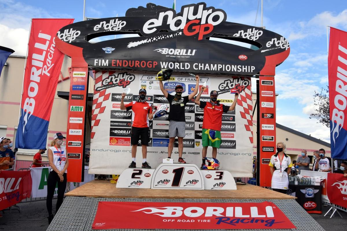 Bruno Crivilin faz história no Mundial de Enduro na França