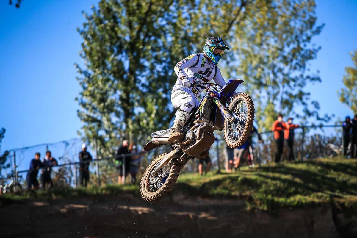 EMX: Thibault Benistant no topo do EMX250 na etapa da Lombardia!