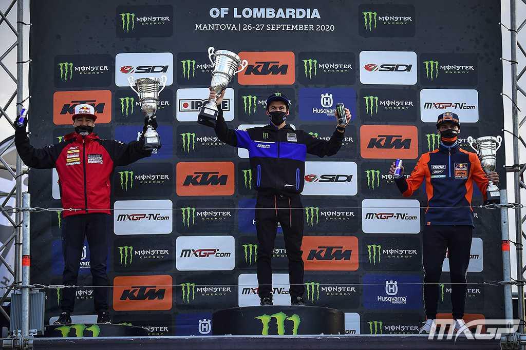 MXGP:Seewer e Olsen vencem em Mantova pelo MXGP da Lombardia