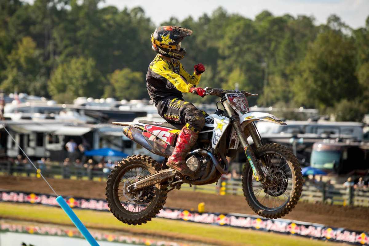 Osborne conquista a quarta vitória da temporada de 2020 Lucas Oil Pro Motocross Championship no WW Ranch