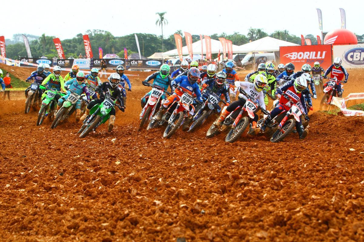 Veja os resultados da MX1, MX2 e Elite-MX na 1ª etapa do Brasileiro de Motocross