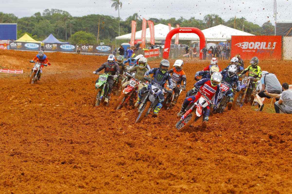 Anthony Rodriguez é o melhor da MX1 e Elite-MX no Brasileiro de Motocross