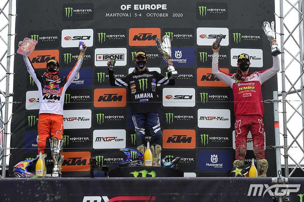 Gajser e Geerts de volta ao topo no MXGP da Europa!