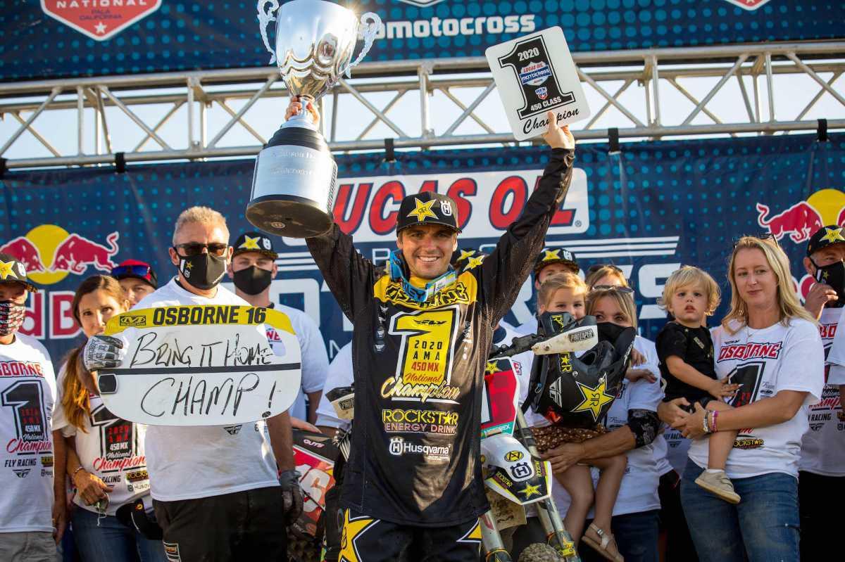 2020 Lucas Oil Pro Motocross Championship Chega a uma conclusão histórica no sul da Califórnia