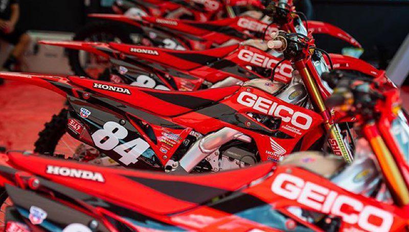 Comunicado oficial da equipe Geico Honda