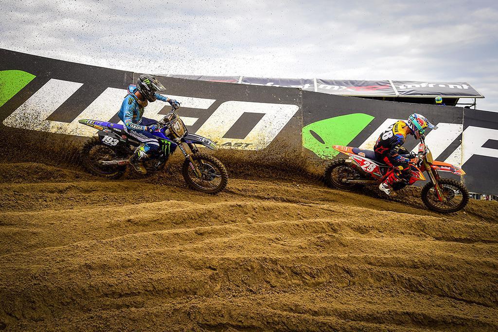 Prado e Vialle lideram o pódio no MXGP de Limburg, na Bélgica