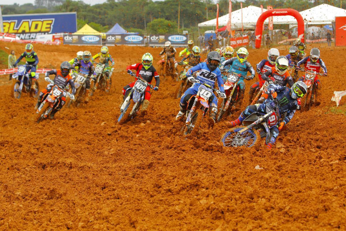 Inscrições para 3ª etapa do Campeonato Brasileiro de Motocross já estão abertas