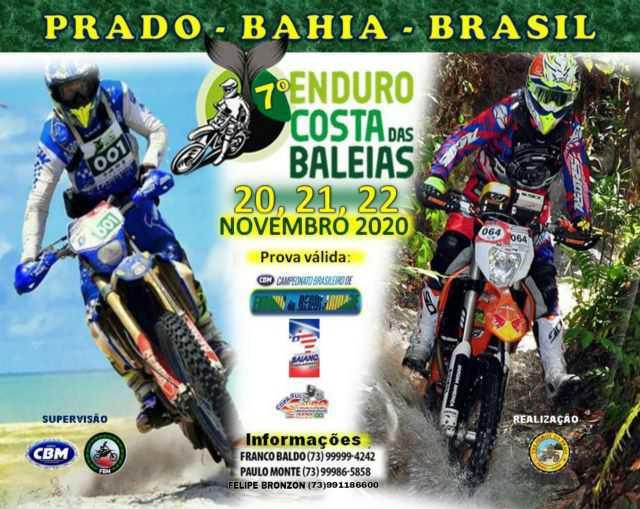 Enduro Regularidade retoma calendário com provas em novembro no Sul da Bahia