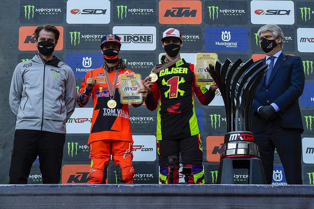 A temporada do Campeonato Mundial de Motocross 2020 termina na Itália
