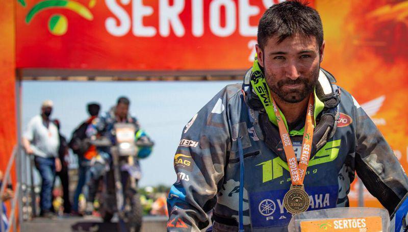 Ricardo Martins da Yamaha é o grande vencedor do Rally dos Sertões 2020