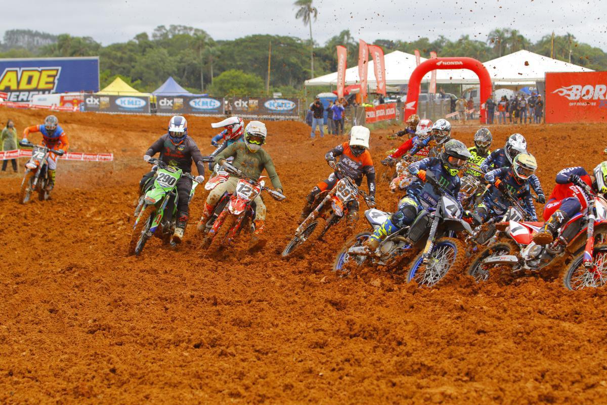 Inscrições para 4ª e 5ª etapa do Campeonato Brasileiro de Motocross já estão abertas.