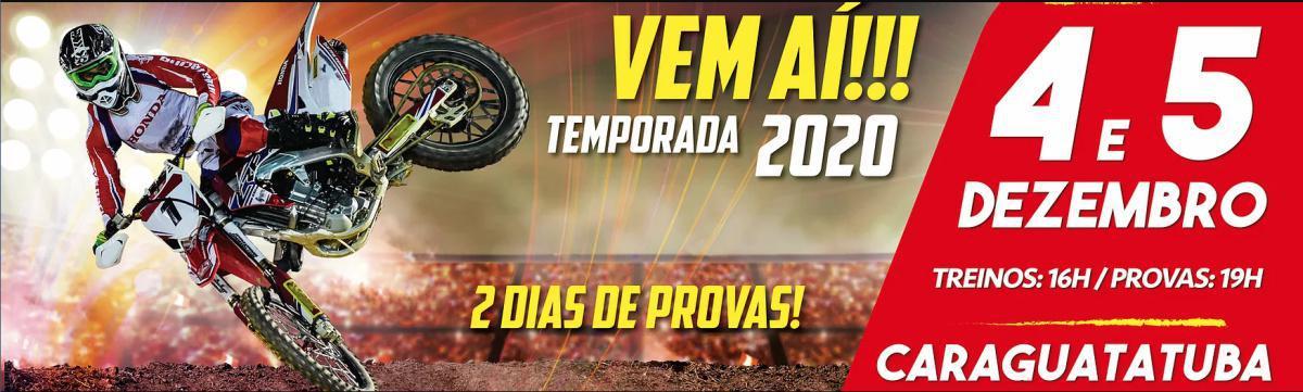 Arena Cross nos dias 04 e 05 de Dezembro (Sexta e Sábado), no estacionamento do Serramar Shopping , Caraguatatuba - SP